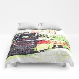 501 Street car Comforters