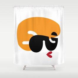 Cool Gal 1 Shower Curtain
