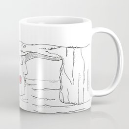 "#mymalta ""Two faces of Dwejra"" Coffee Mug"