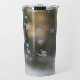 "It's frosty ""Ice Flower"" #1 #art #society6 Travel Mug"