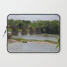 Trestle Over the Maumee II Laptop Sleeve
