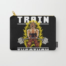 TRAIN INSAIYAN (Goku Deadlift) Carry-All Pouch