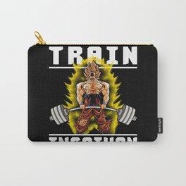TRAIN INSAIYAN (Goku Deadlift) Carry-All Pouch