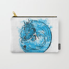 Dragon Waves Carry-All Pouch