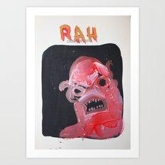 rah Art Print