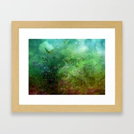 """The Enchanted Forest"" (Fairyland) Framed Art Print"