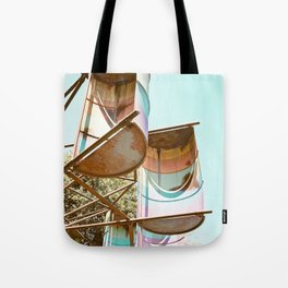 Rainbow Barrels Tote Bag