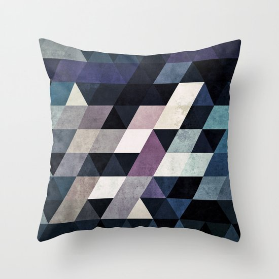 mydy cyld Throw Pillow