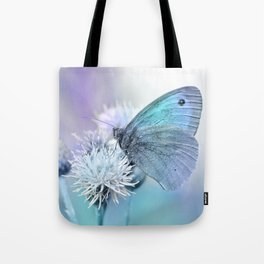 Butterfly blue 71 Tote Bag
