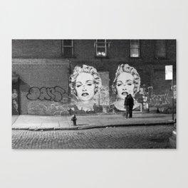 NYC grit Canvas Print