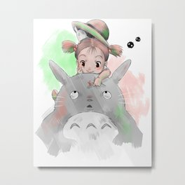 Cute Mei Metal Print