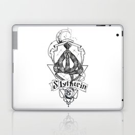 The Cunning House of Slytherin Laptop & iPad Skin