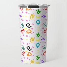sailor moon vuiton inspired pattern Travel Mug