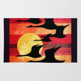 Sunset Migration Rug