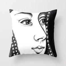 Queen Anne Boleyn Portrait  Throw Pillow