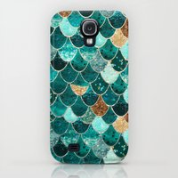 Samsung Galaxy S4 Case featuring REALLY MERMAID by Monika Strigel