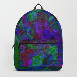Purple Whirlpool Backpack