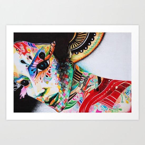 Portre Art Print