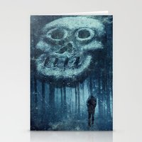 depression Stationery Cards featuring depression by Dirk Wuestenhagen Imagery