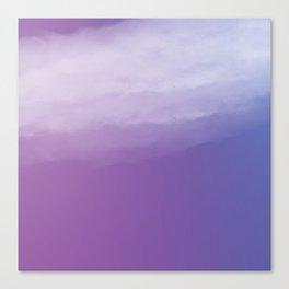Watercolor (purple) Canvas Print