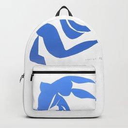 Henri Matisse,Le chevelure från 1952, Blue Hair Artwork, Men, Women, Youth Backpack
