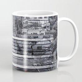 Steepest Street Bench Coffee Mug