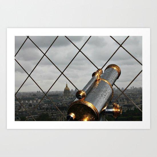 Paris Heights Art Print