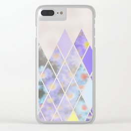 Summer in the Swiss Alps Clear iPhone Case
