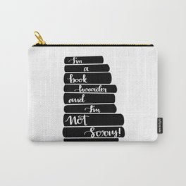 Book Hoarder Carry-All Pouch