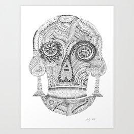 Sugar Skull 2.0 Art Print
