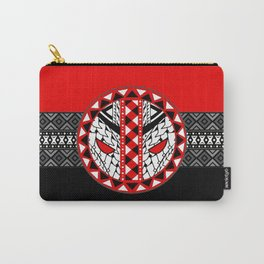 Dead Pool Pattern Symbol Carry-All Pouch