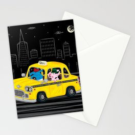 Taxi Ride Stationery Cards