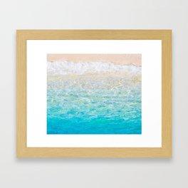 Life's a Beach... Framed Art Print