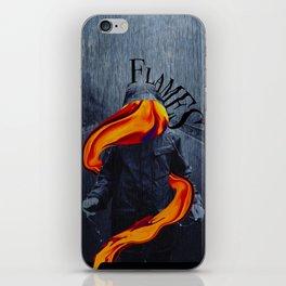 Flames iPhone Skin