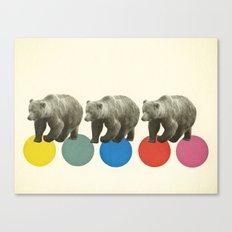 Wandering Bears Canvas Print