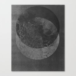 TWO MOON Canvas Print