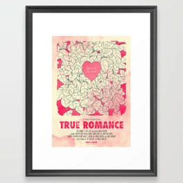 True Romance Framed Art Print