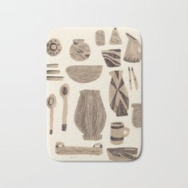 Dinnerware for Entertaining, 1958 Bath Mat