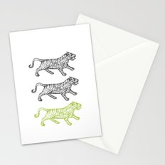 Three Tigers Stationery Cards