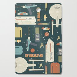 To Boldly Go... Cutting Board
