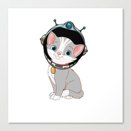 space cat furniture Design by diegoramonart Canvas Print