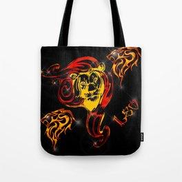 Leo Astrology Sign Tote Bag