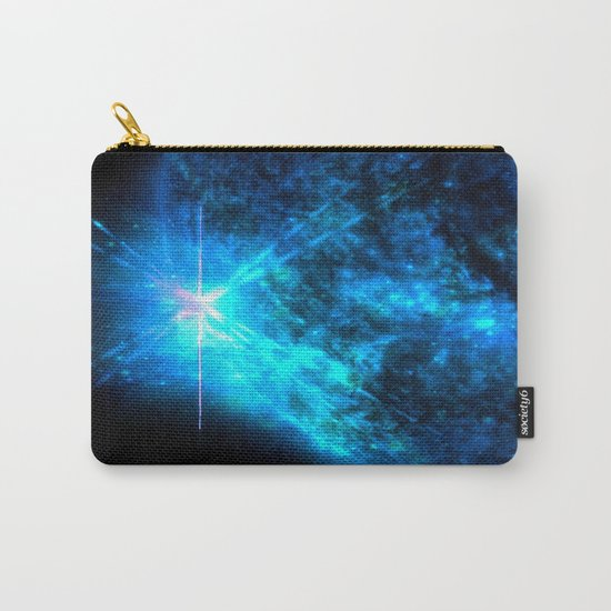 Blue Starlight Carry-All Pouch