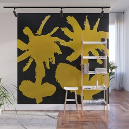 fistful of dandelions Wall Mural