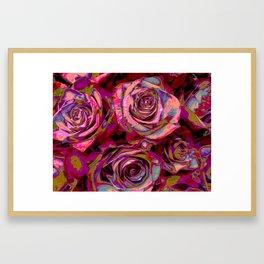 Extreme Roses Framed Art Print