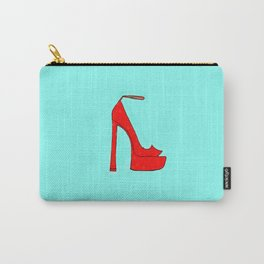 Red Shoe Carry-All Pouch
