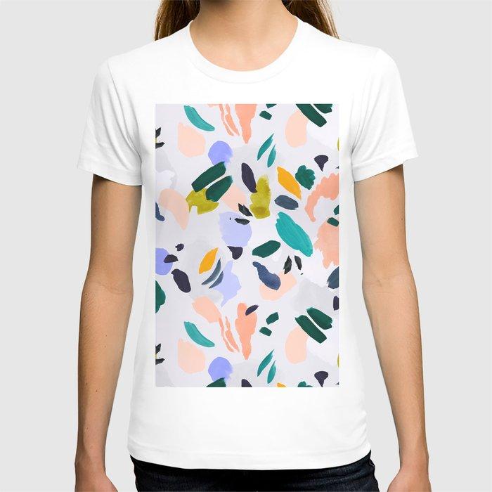 TERRAZZO BRUSHSTROKES T-shirt