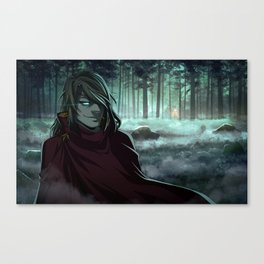 Forest meeting Canvas Print