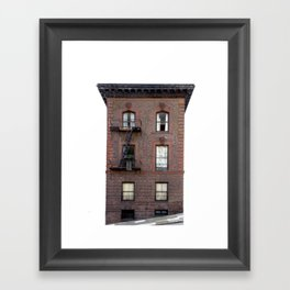 Brick House San Francisco Framed Art Print