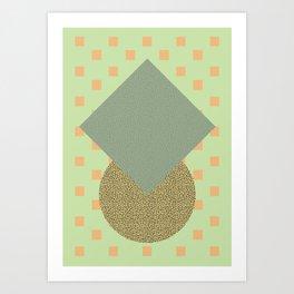 Cirkel is my friend V7 Art Print